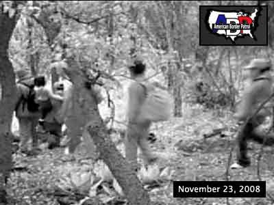 Picture from video first featured by American Border Patrol